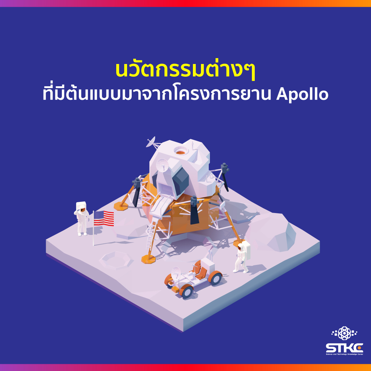 นวัตกรรมต่างๆ ที่มีต้นแบบมาจากโครงการยาน Apollo