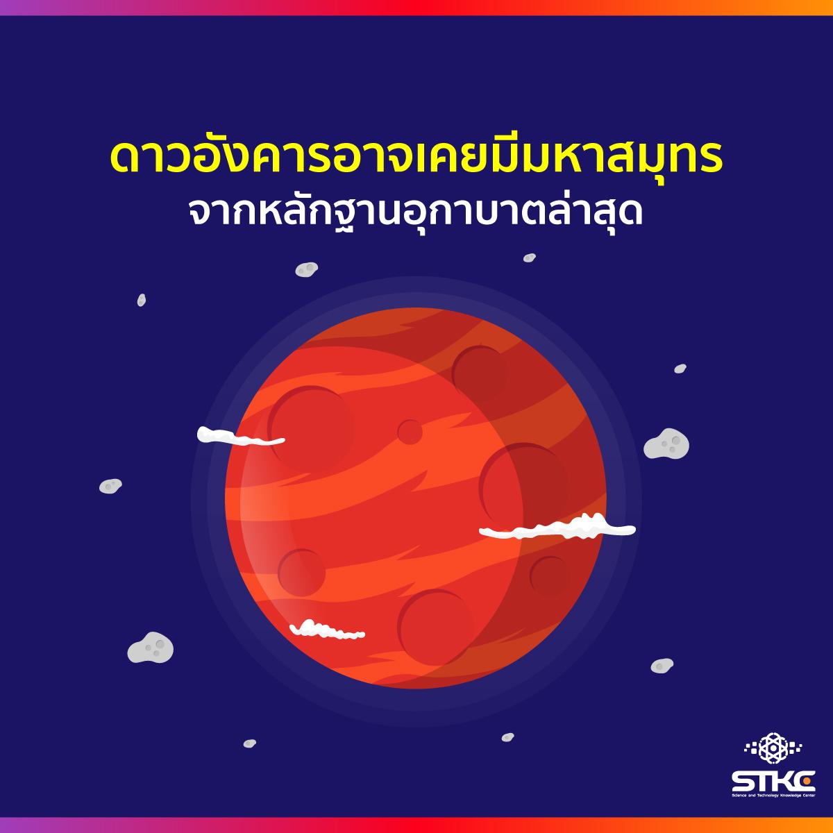 ดาวอังคารอาจเคยมีมหาสมุทร จากหลักฐานอุกาบาตล่าสุด