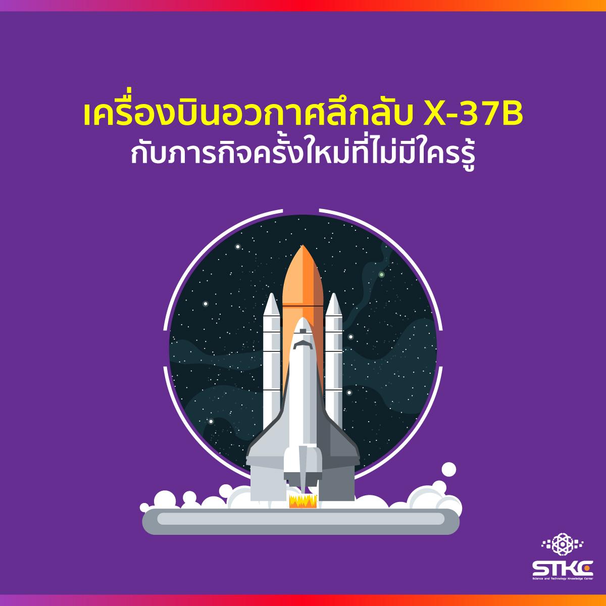 เครื่องบินอวกาศลึกลับ X-37B กับภารกิจครั้งใหม่ที่ไม่มีใครรู้