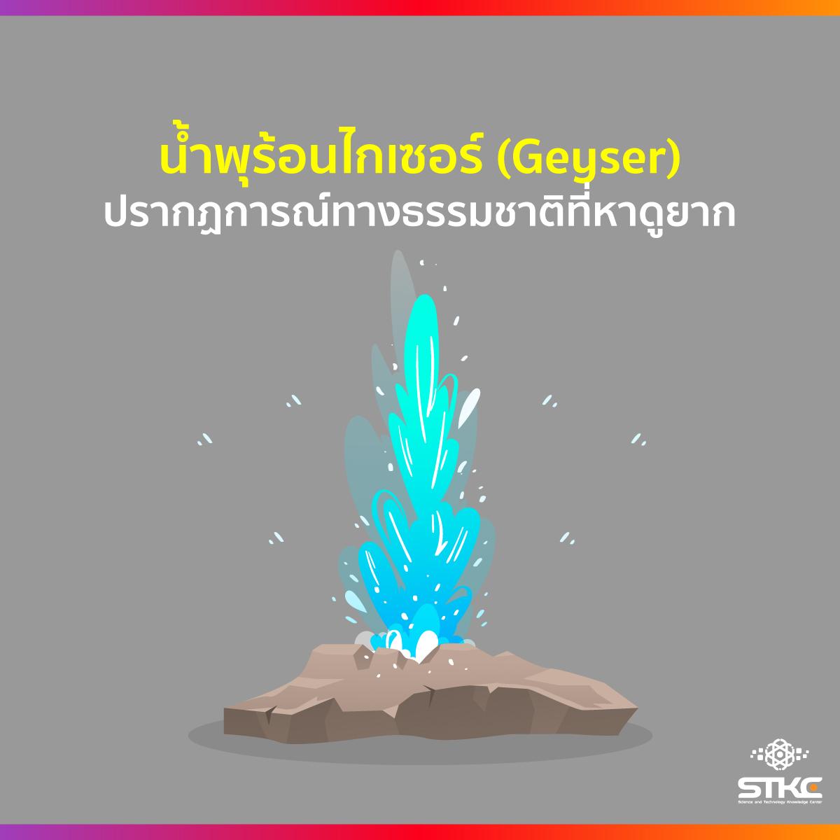 น้ำพุร้อนไกเซอร์ (Geyser) ปรากฏการณ์ทางธรรมชาติที่หาดูยากและพบได้เพียงไม่กี่แห่งบนโลก
