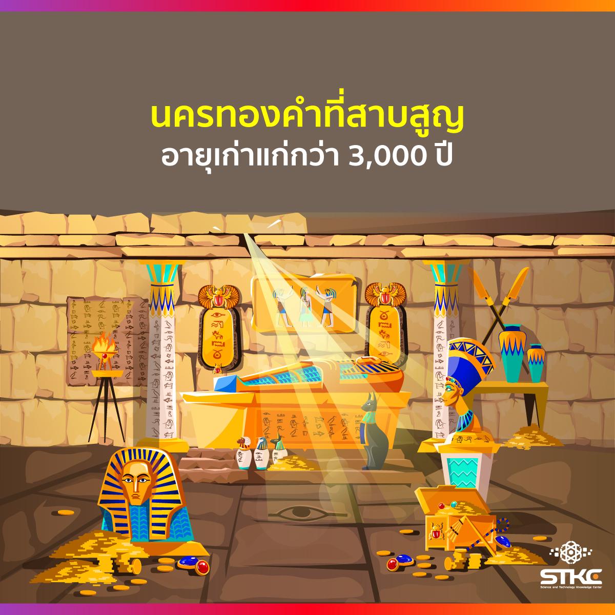 นครทองคำที่สาบสูญ อายุเก่าแก่กว่า 3,000 ปี
